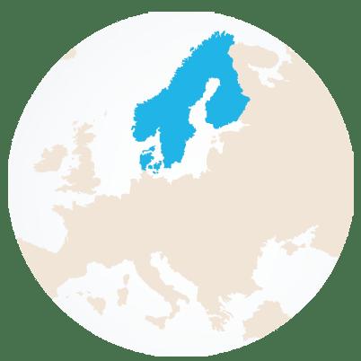 Mapa nórdico